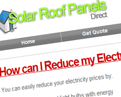 Solar Roof Panels Direct